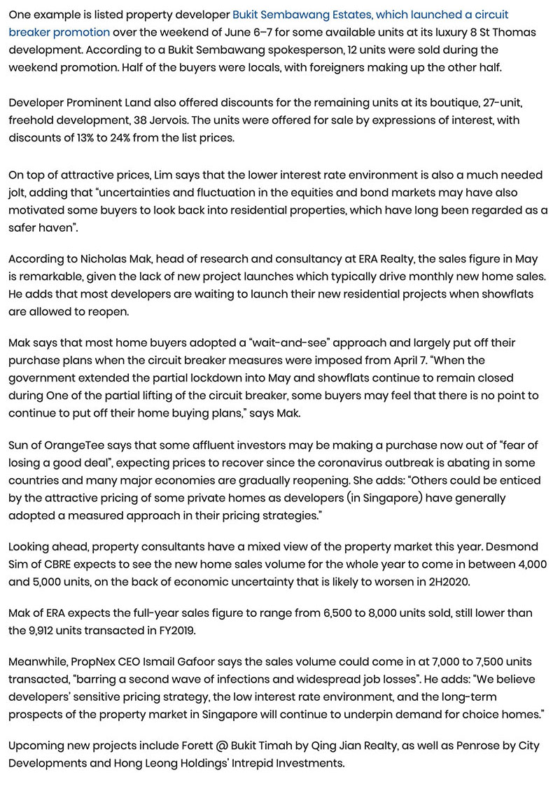 Ki Residences - New home sales see strong rebound in May, up 75.5% Part 2