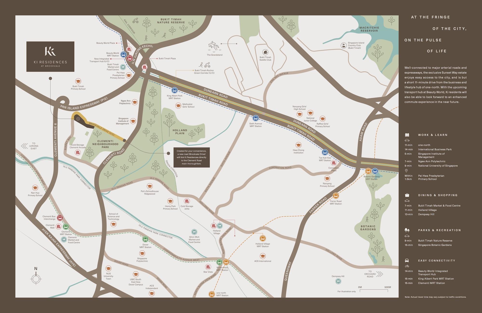 Ki Residences Location Map Singapore