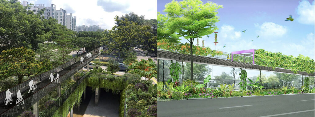 Ki Residences - Green Corridor Perspetive View 1