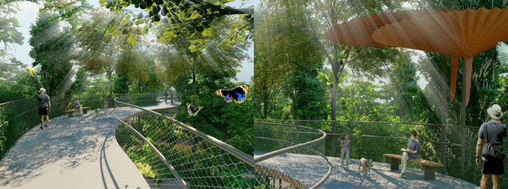 Ki Residences - Green Corridor Perspetive View 2